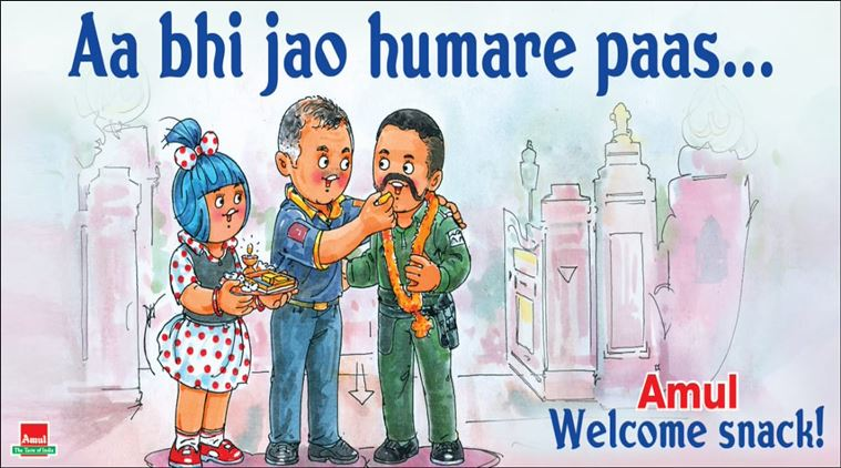 15. Amul Poster