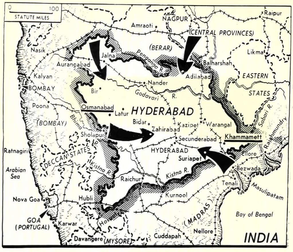 2. 1948 Hydreabad India Massacre