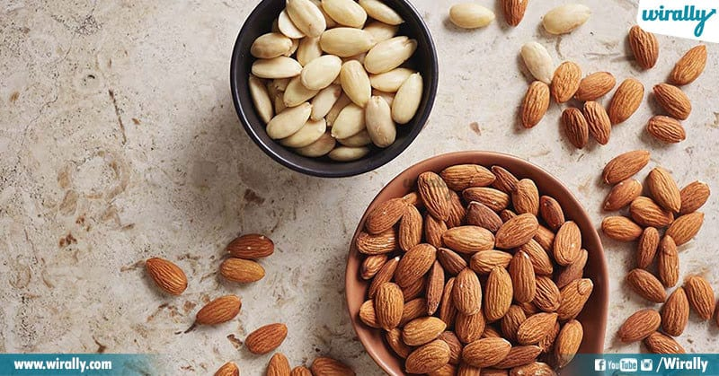 4 Soaked Almonds Vs Raw Almonds