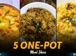 5 One Pot Meal Ideas