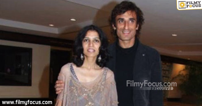 6 Rahul Dev With His Wife