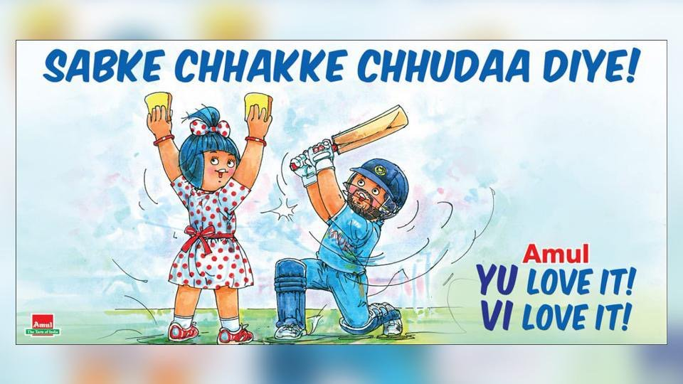 6. Amul Posters