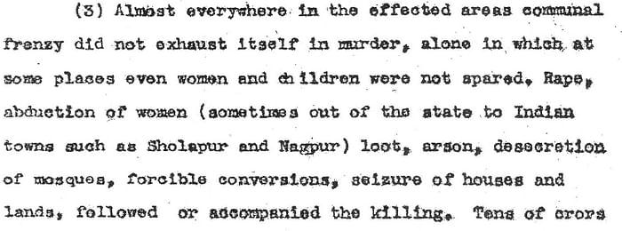 8 1948 Hydreabad India Massacre