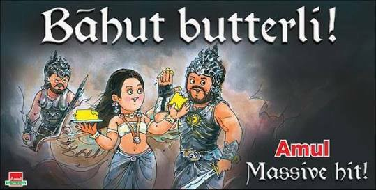 8. Amul Posters