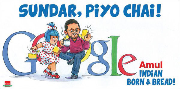 9. Amul Posters