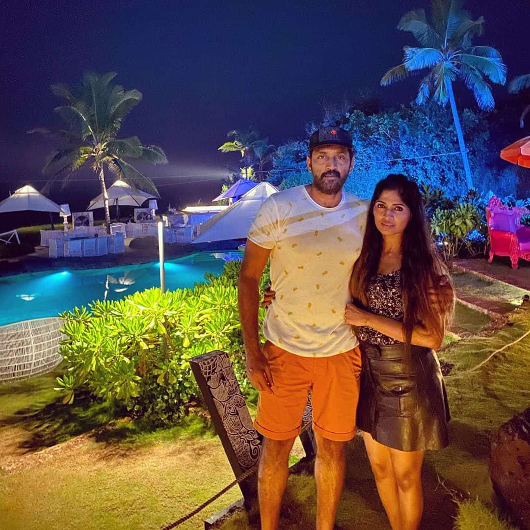 Actor Ajay With His Wife Swetha Ravuri 2
