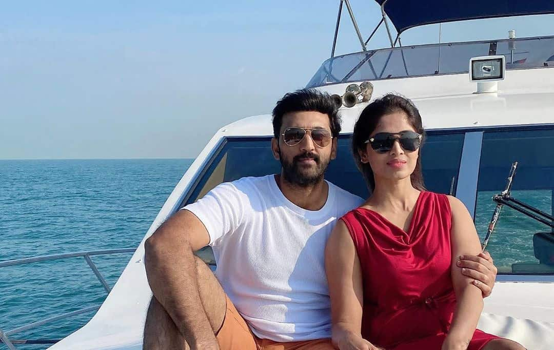 Actor Ajay With His Wife Swetha Ravuri 3