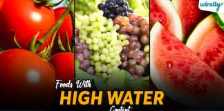 Foods With High Water Content