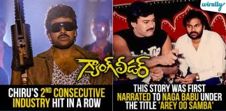 Gangleader The Movie That Made Chiranjeevi Larger Than Life