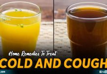 Home Remedies To Treat Cold And Cough