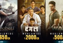 Indian Films More Than 500 Crores
