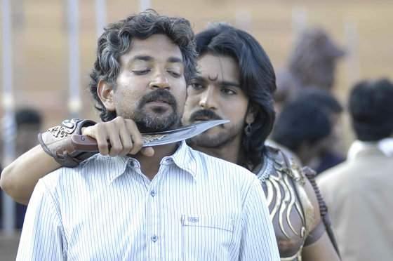 Magadheera Movie Unseen Working Stills (1)