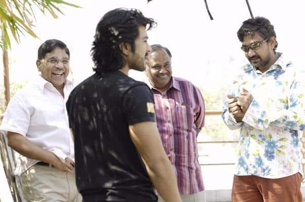 Magadheera Movie Unseen Working Stills (12)