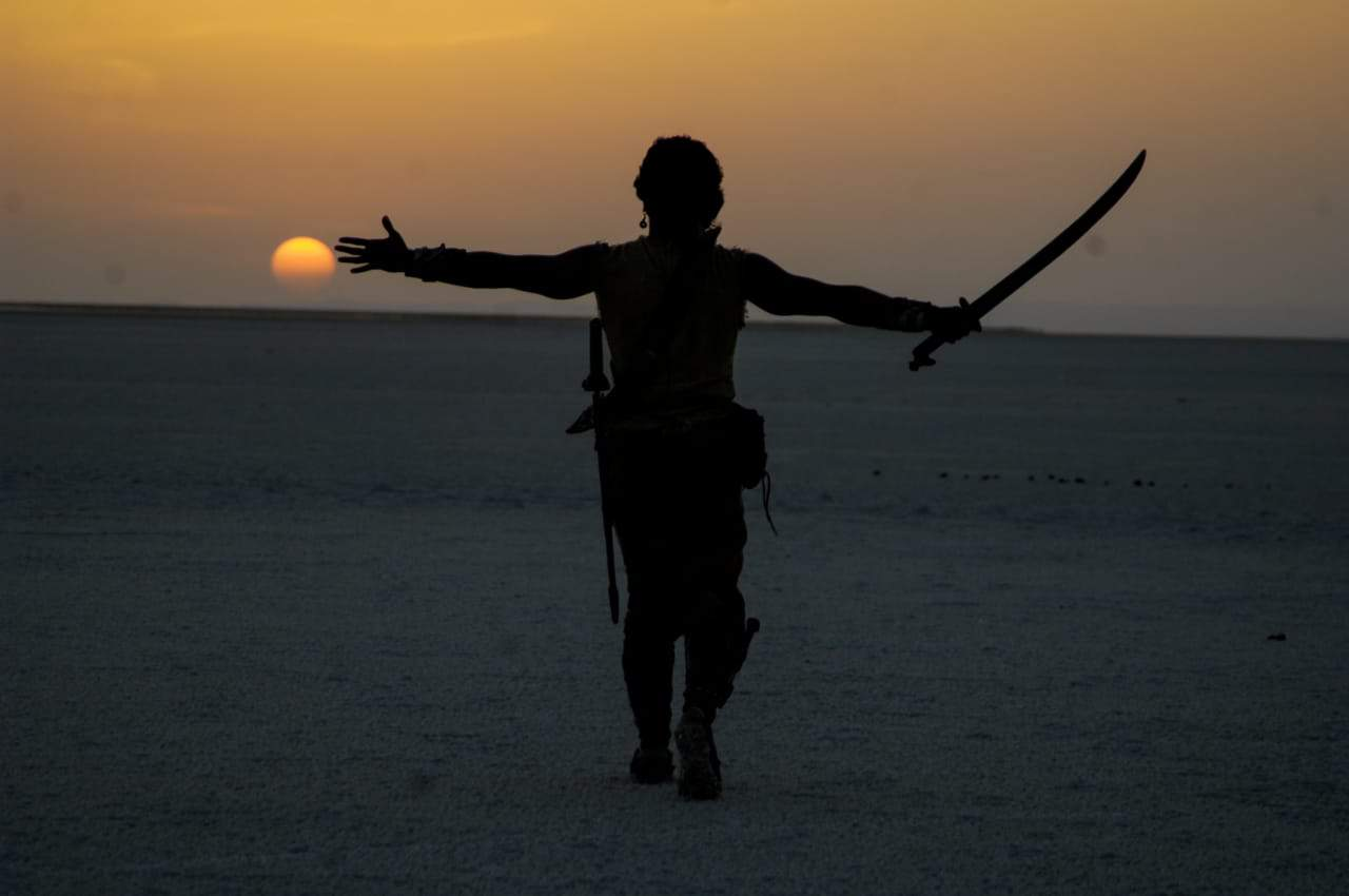 Magadheera Movie Unseen Working Stills (28)