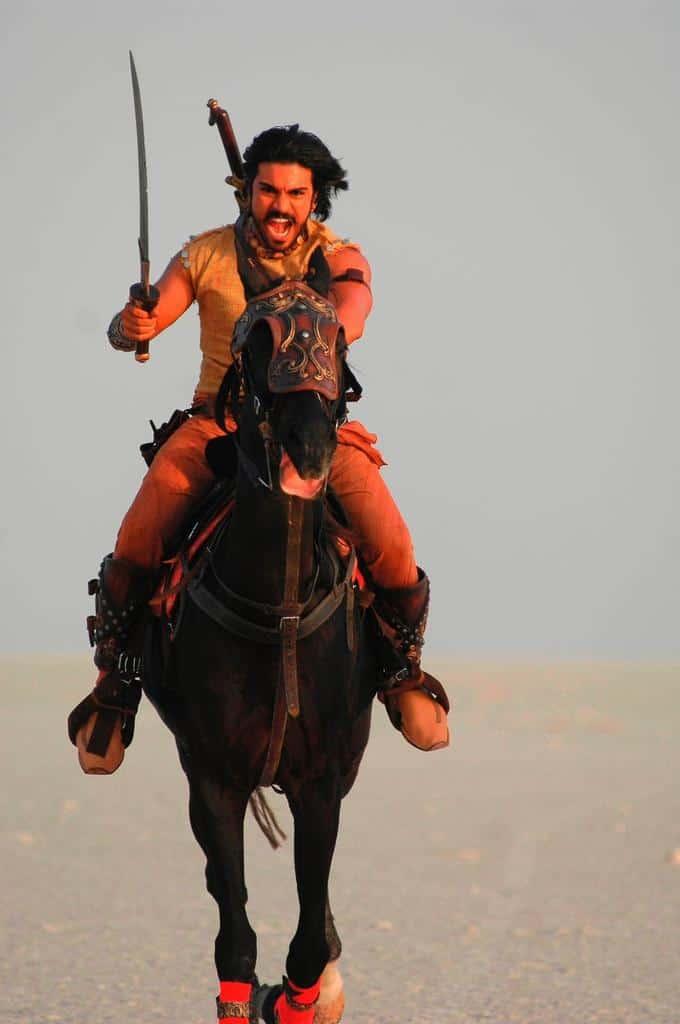 Magadheera Movie Unseen Working Stills (30)