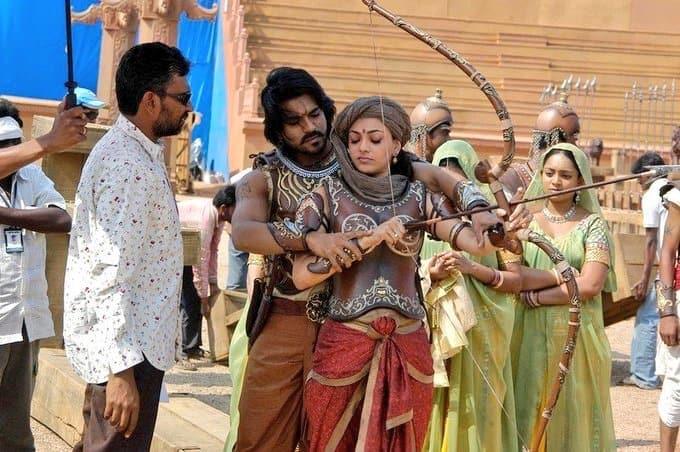 Magadheera Movie Unseen Working Stills (34)