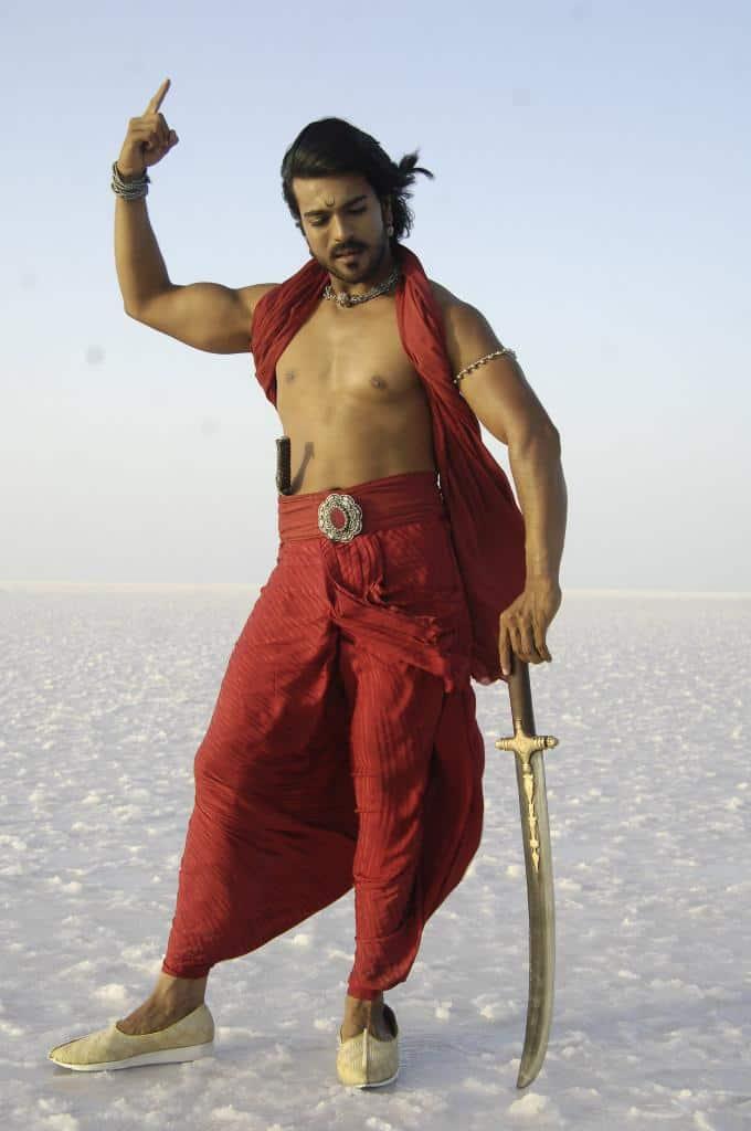 Magadheera Movie Unseen Working Stills (38)