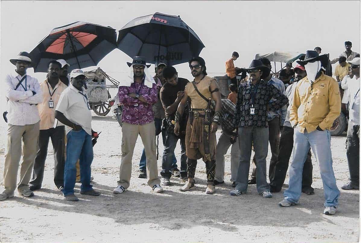 Magadheera Movie Unseen Working Stills (41)