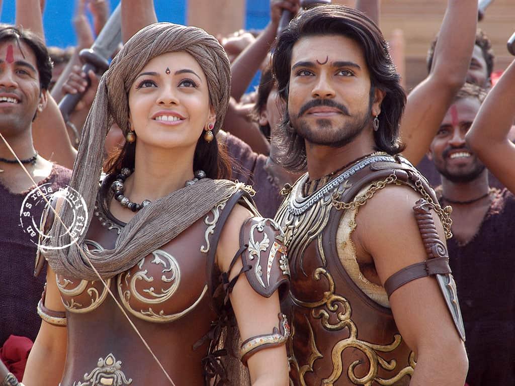 Magadheera Movie Unseen Working Stills (48)
