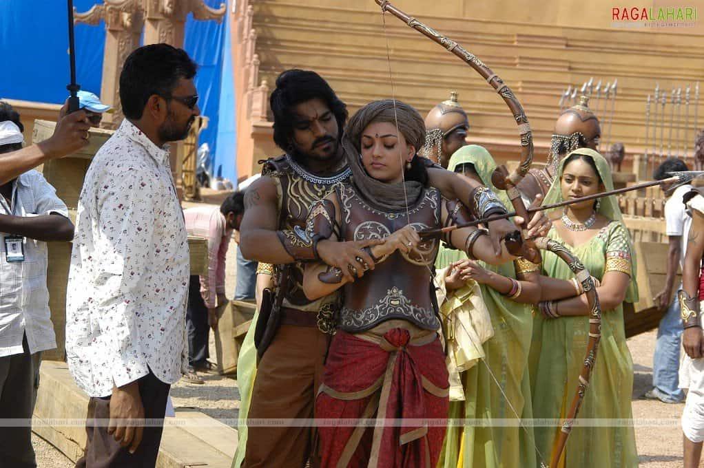 Magadheera Movie Unseen Working Stills (57)