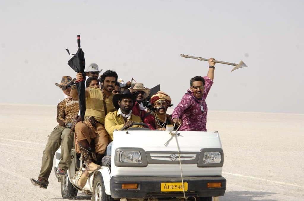 Magadheera Movie Unseen Working Stills (6)