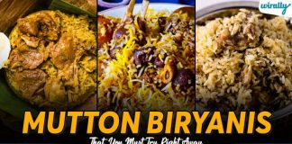 Mutton Biryanis That You Must Try Right Away