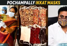 Pochampally Ikkat Masks (1)