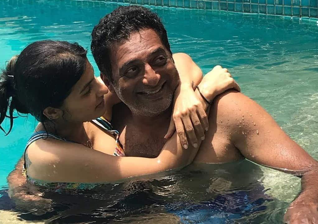 Prakash Raj With His Wife Pony Verma 1