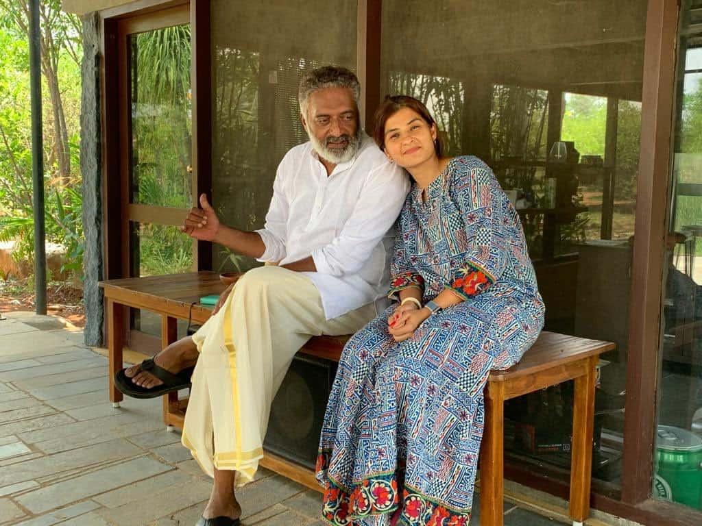 Prakash Raj With His Wife Pony Verma 2