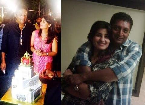 Prakash Raj With His Wife Pony Verma 4