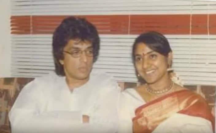 Raghuvaran With His Wife Rohini 2