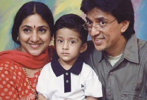 Raghuvaran With His Wife Rohini 3