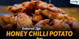 Restaurant Style Honey Chilli Potato Recipe