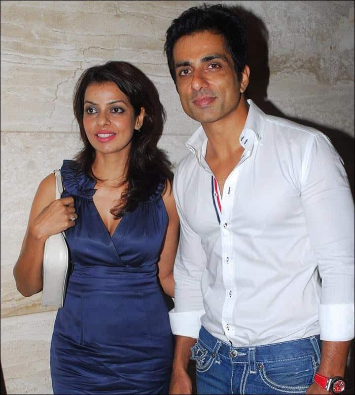 Sonu Sood With His Wife Sonali Sood 1