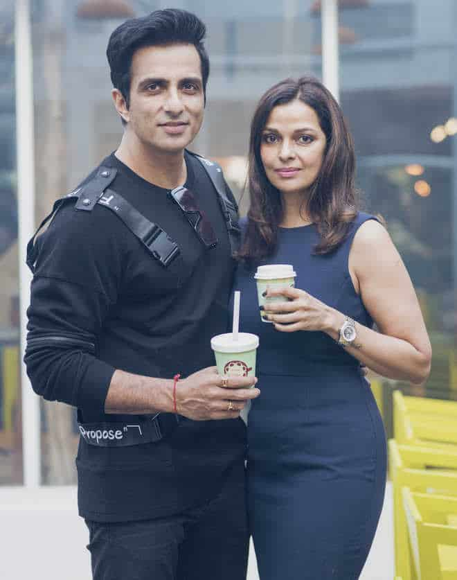 Sonu Sood With His Wife Sonali Sood 2