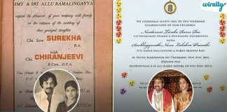 Take A Look At These Wedding Cards Of Our Tollywood Celebrities