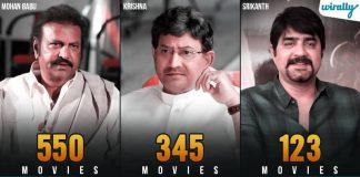 Telugu Heroes More Than 100 Films