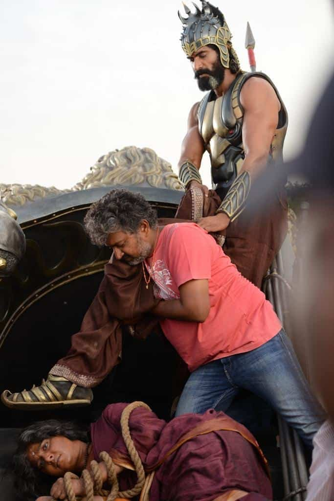 Unseen Working Stills From Baahubali Movie1