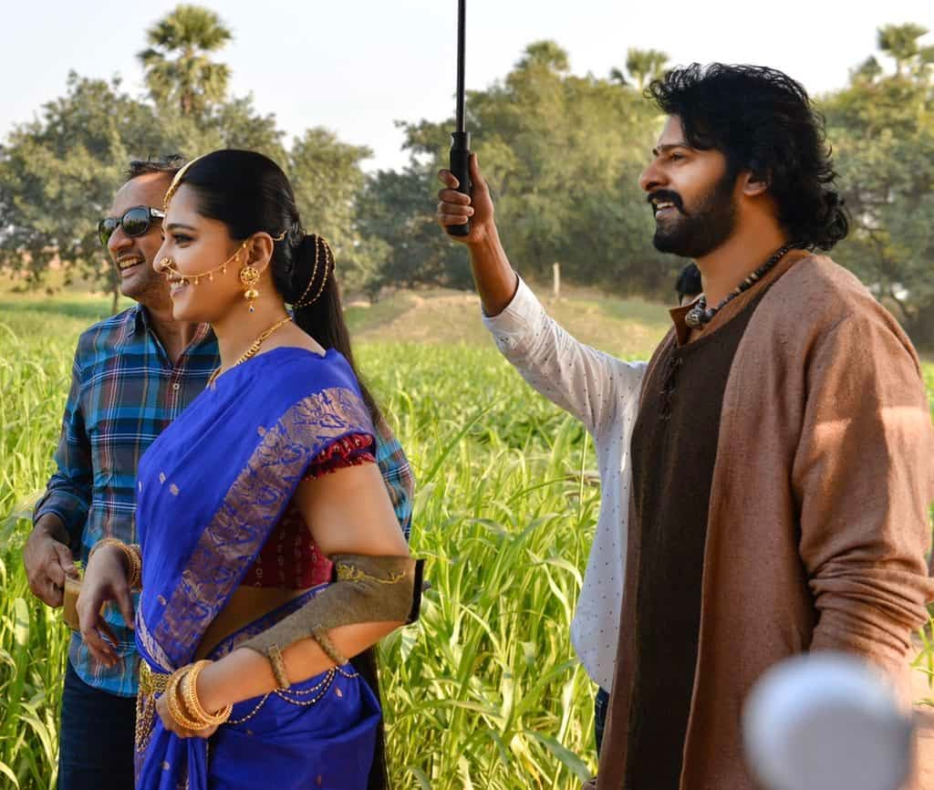 Unseen Working Stills From Baahubali Movie2
