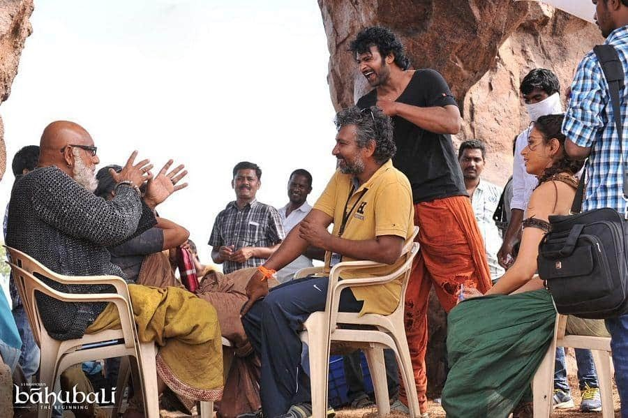 Unseen Working Stills From Baahubali Movie25