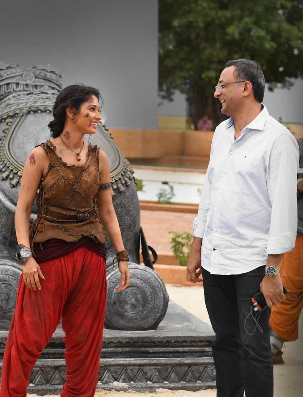Unseen Working Stills From Baahubali Movie3
