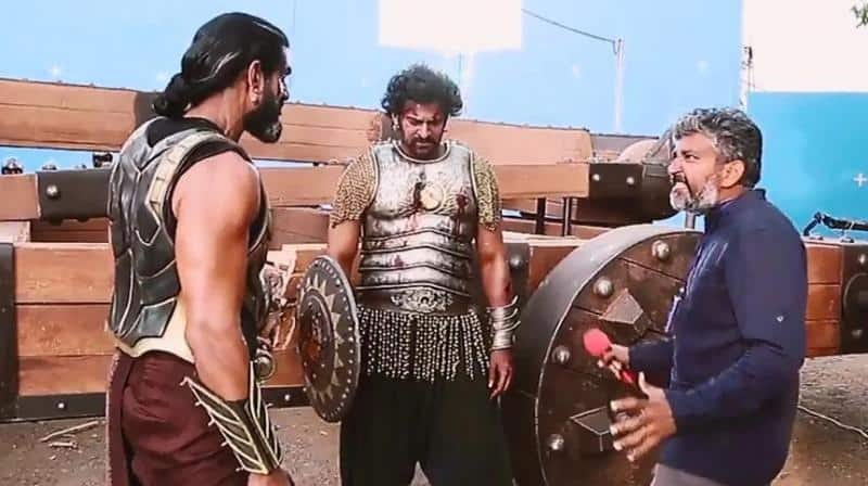 Unseen Working Stills From Baahubali Movie32