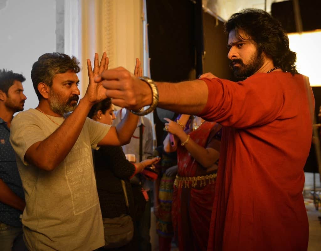 Unseen Working Stills From Baahubali Movie45