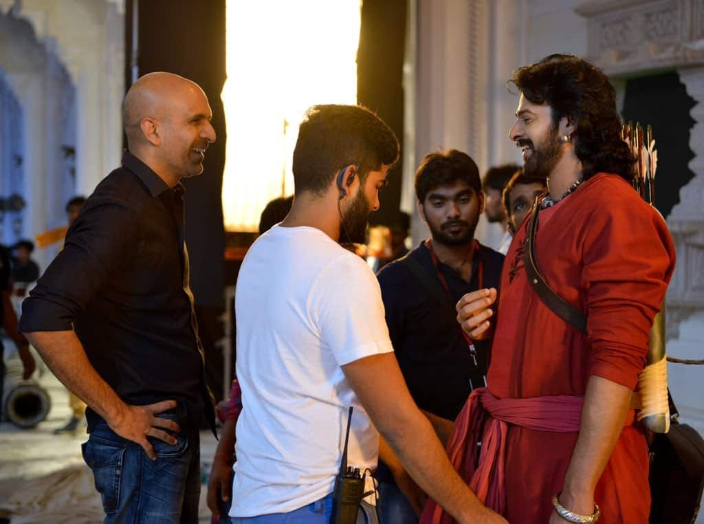 Unseen Working Stills From Baahubali Movie48