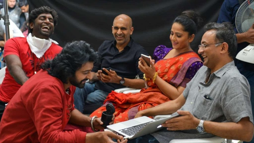 Unseen Working Stills From Baahubali Movie6 1024x577