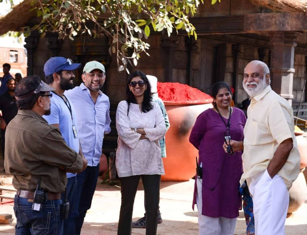 Unseen Working Stills From Baahubali Movie9 1024x786