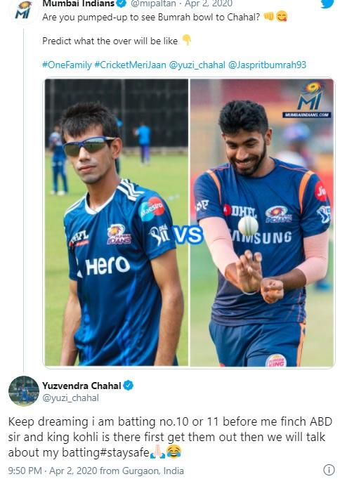 1. Chahal Tweets & Memes