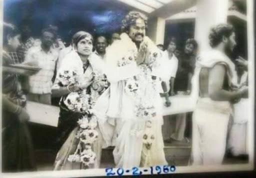 1. Chiranjeevi Marriage Photo