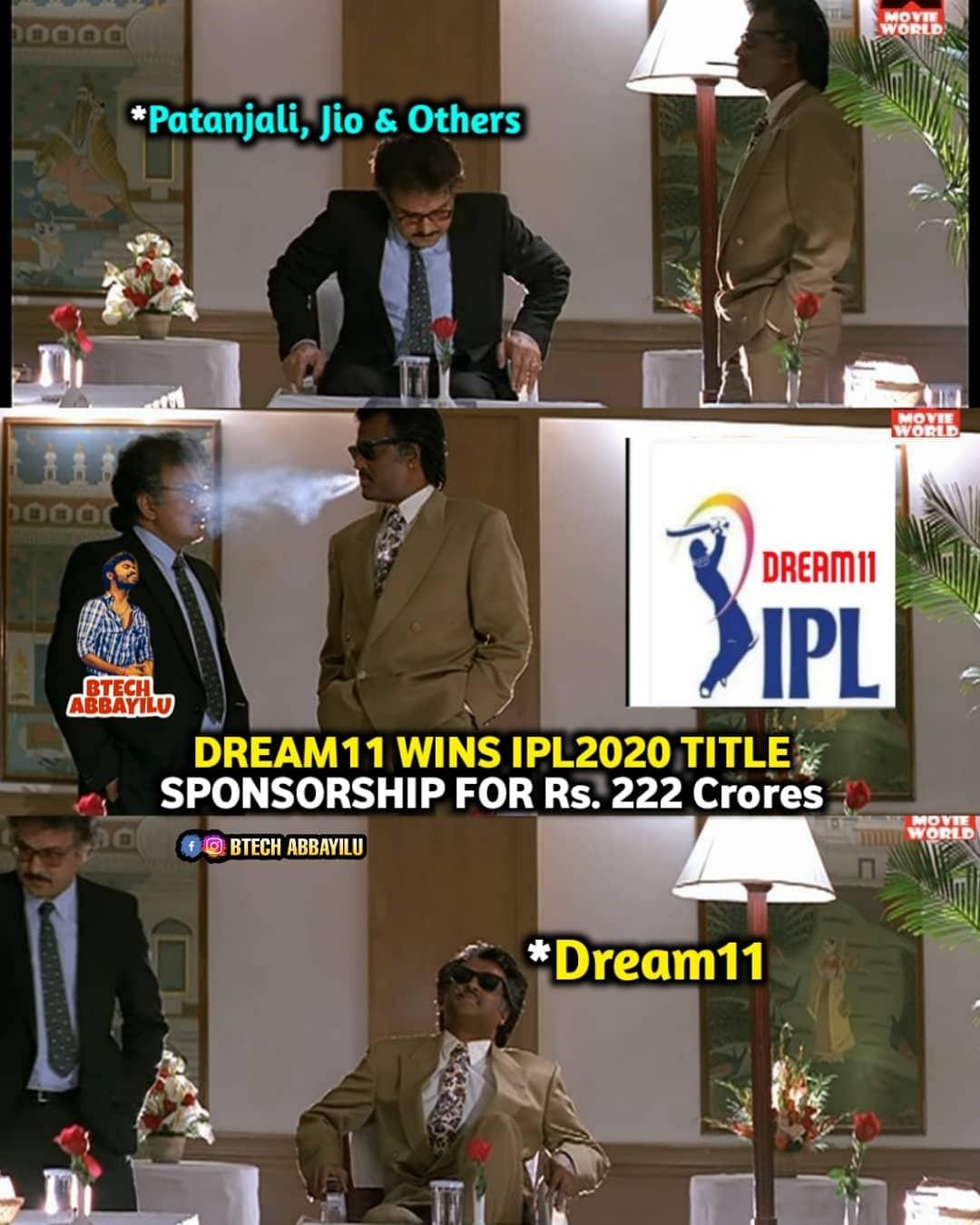 10. Dream 11 Ipl Title Sponsor