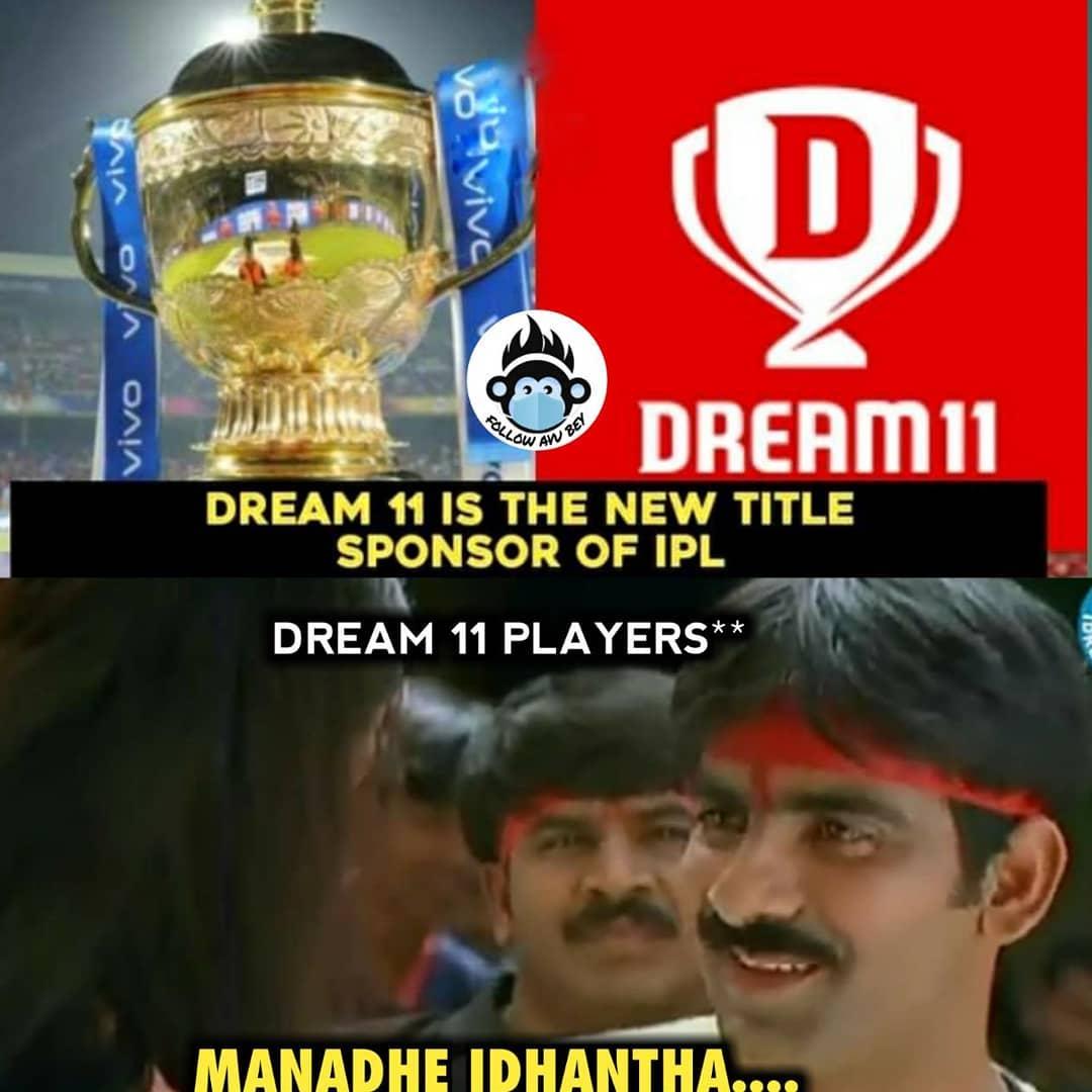 11. Dream 11 Ipl Title Sponsor